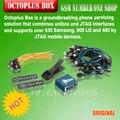 Caixa Octoplus originais Conjunto Completo Activado para Samsung para LG + Medua JTAG (Embalado com 25 pcs cabos)