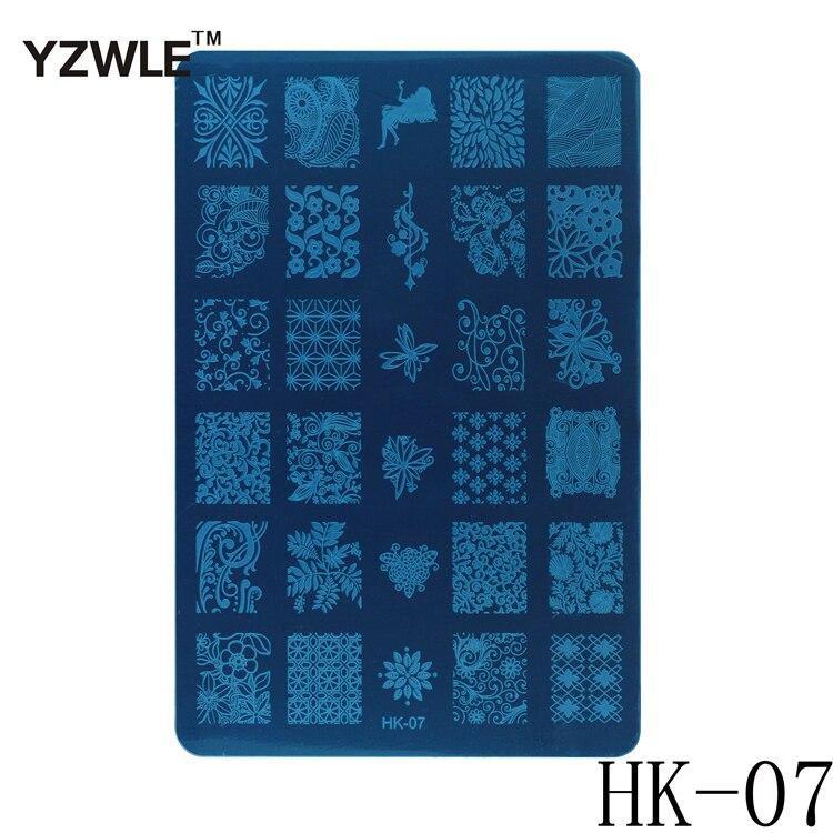 1 Sheet 2016 New Styles 9.5x14.5cm HK Series Stainless Steel ...
