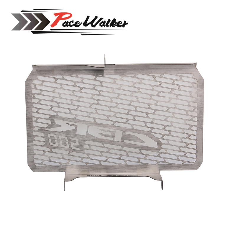 2016 Hot Sale Stainless Steel CBR 500R Motorcycle Radiator Grille Guard Cover Protector For Honda CBR500R 2013 2014 2015 arashi motorcycle parts radiator grille protective cover grill guard protector for 2003 2004 2005 2006 honda cbr600rr cbr 600 rr