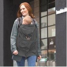 Baby Carrier Cloak Mantle Cover Waterproof Baby Backpack Carrier Cover Baby Kangaroo Sling Rainproof Cloak Windproof Suspender