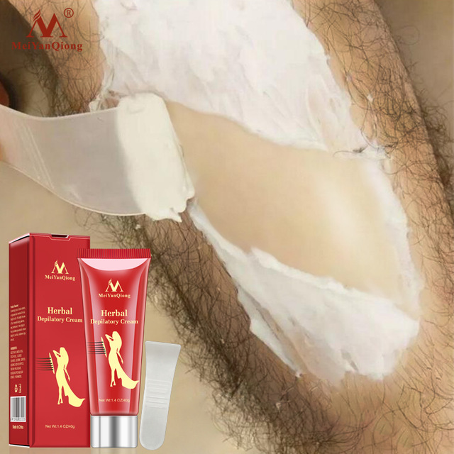 Female Male Herbal Depilatory Cream Hair Removal Painless Cream for Removal Armpit Legs Hair Body Care Shaving & Hair Removal image