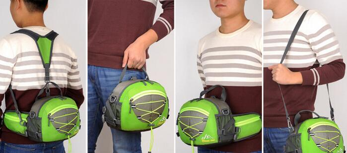 multifuncional ombro mensageiro portátil viagem montanhismo mochila