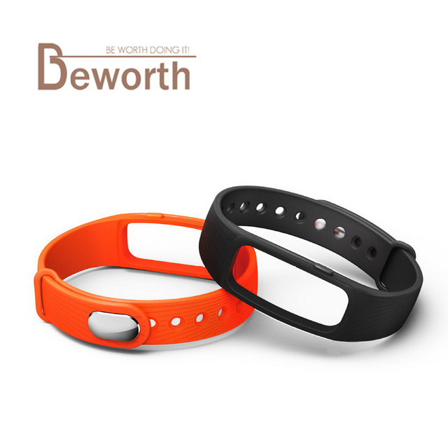 ID107 Smart Bracelet Band Strap Replacement Watchband Silicone Belt Accessory for Original Wearable ID 107 Only Straps