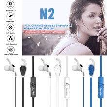 Big discount 100% Original Bluedio N2 Bluetooth 4.1 Wireless Stereo Headset Headphones Earphones In-ear Earbuds Sports Gym