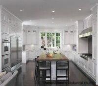solid wood kitchen cabinet(LH SW096)
