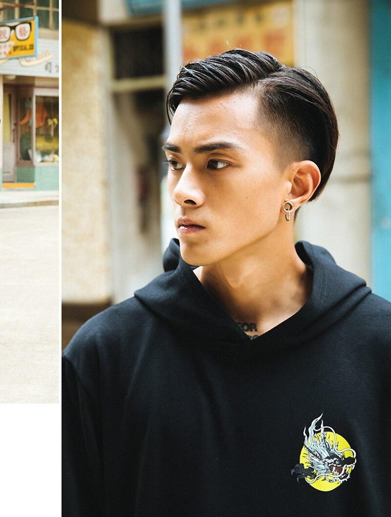 Chinese Dargon Hip Hop Hoodies Sweatshirts