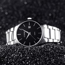 Curren Hombres Relojes de Primeras Marcas de Lujo Hombres Reloj de Acero Completo Fecha de Visualización de Moda Reloj de Cuarzo Reloj de Los Hombres de Negocios Reloj Hombre