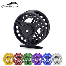 CAMEKOON Fly Fishing Reel 3/4wt 5/6wt Large Arbor Aluminum Light Weight Fly Reel Hand-Changed Fishing Reel fly reel