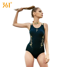 361 Women One Piece Sport Push Up Swimsuits Triangle Bandage Sexy Swimwear Backless Swimming Suits for Bathing