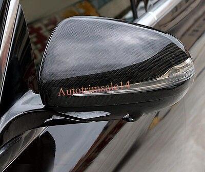 Real Carbon Fiber Side Mirror Cover Trim For Mercedes Benz E Class W213 16 17