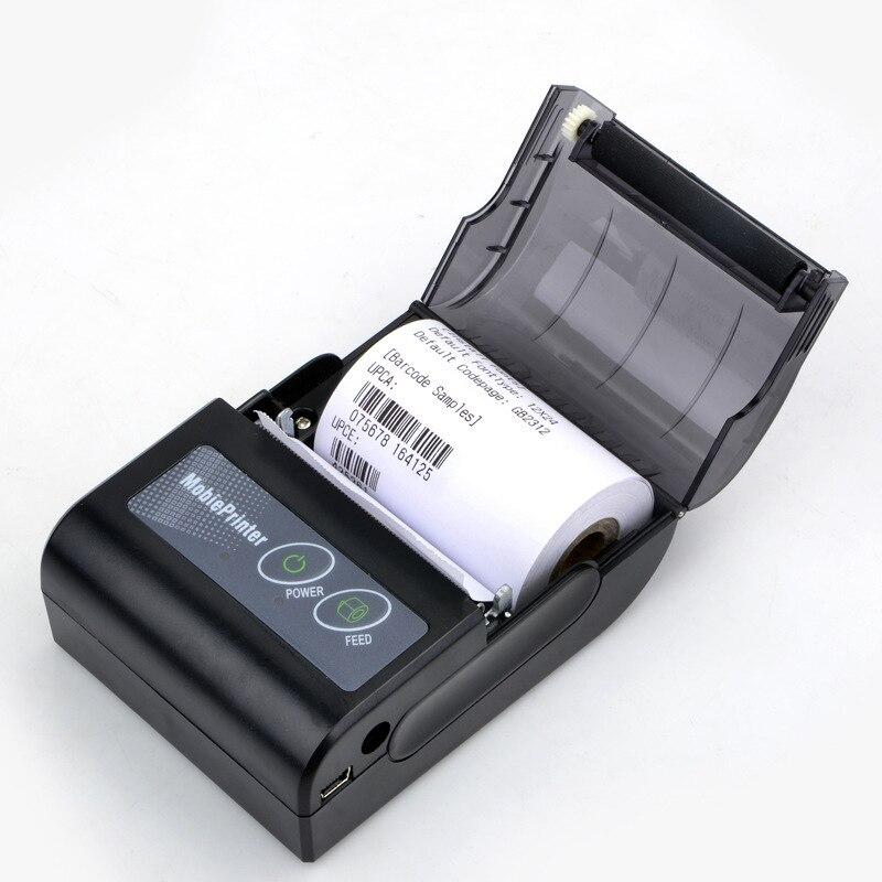 58mm Bluetooth POS Receipt Thermal Printer Bill Machine for Supermarket pos machine roll gp 58mb 58mm usb pos thermal sensitive receipt printer bill printing machine black