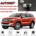 AUTONET Backup Rückansicht kamera Für Ford Endeavour 3 Everest 3 2015 2016 2017 2018 2019 Nacht Vision/parkplatz kamera oder Halterung