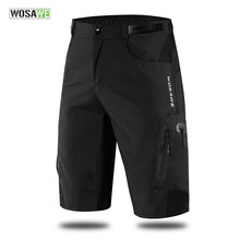 WOSAWE Men's MTB Shorts Outdoor Motocross Bike Short Pant Breathable Loose Fit For Running Bicycle Cycling Shorts Ciclismo(China)