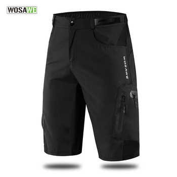 WOSAWE Men's MTB Shorts Outdoor Motocross Bike Short Pant Breathable Loose Fit For Running Bicycle Cycling  Shorts Ciclismo - DISCOUNT ITEM  40% OFF All Category
