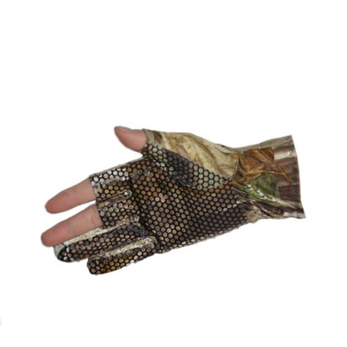 Elástico 3 Baixo Cortar Os Dedos Luva