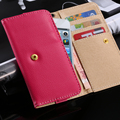DR.CASE Universal PU Leather Wallet Case For Huawei P8 P9 Lite Xiaomi Redmi Note 3 4 Pro 3 Mi 4 5 iPhone 6 6s 7 Plus Samsung S7