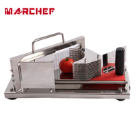 HT 4 Commercial Manual Tomato Slicer Onion Slicing Cutter Machine Vegetable Cutting Machine