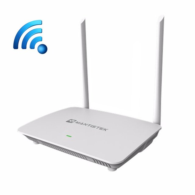 Mantistek WR500 Wireless Wifi Repeater 2.4G 300Mbps 802.11 b/g/n Router Signal Stability WiFi Router Support Through Wall Router