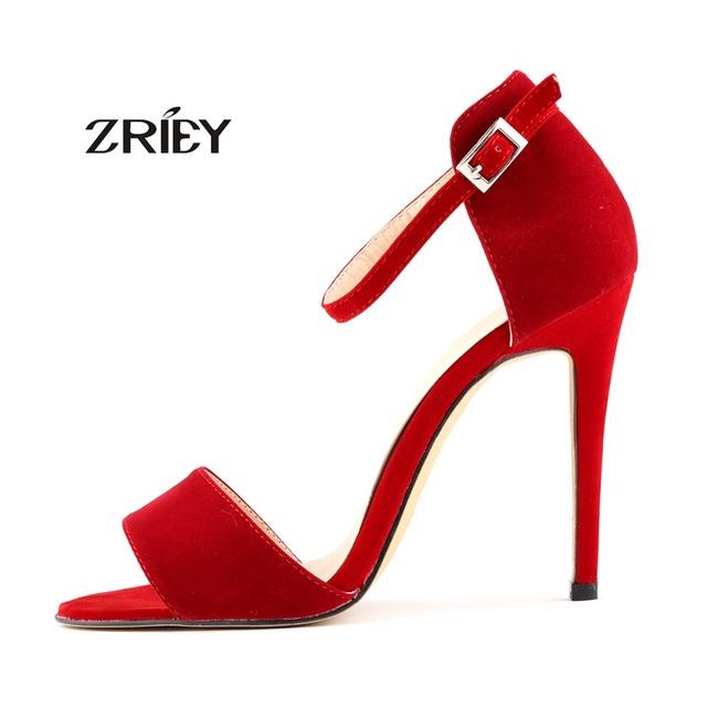 Más nuevos Tacones Altos Sandalias Mujeres Bombas Stilettos Tobillo Del Dedo Del Pie Abierto zapatos de Tacón Fino de Plataforma Cuñas Sexy Sandalias Zapatos de Las Mujeres