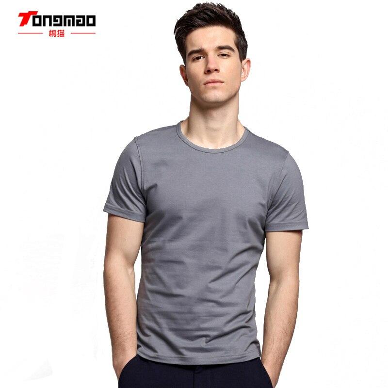 TONGMAO Ropa de verano camiseta de cuello redondo de los hombres de - Ropa de hombre