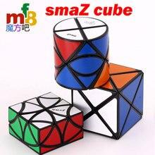Cubo magico di puzzle mf8 SmaZ 8 Assi Cilindrico Cilindro Dino2x2 SmaZ 8 Assi cubo Dino troncare cubo dimezzare Curvy Elicottero farfalla