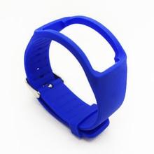 Smartwatch strap armband ersatz armband für samsung gear fit r350 band einfarbig kein tracker