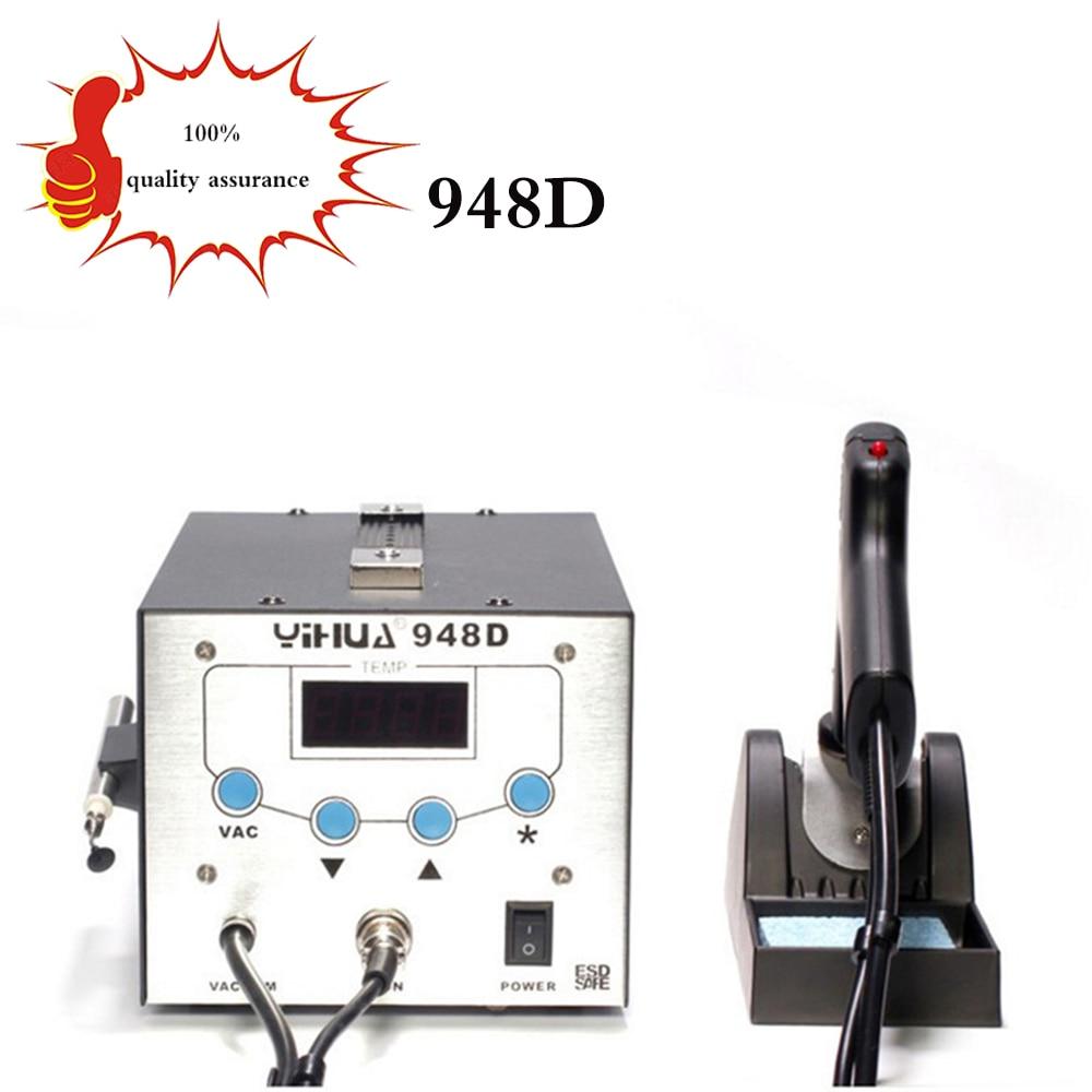 free delive948Dupgrade version 3in1 BGA Desoldering Station Electric Vacuum Desoldering Pump Solder Sucker Gun Soldering Station цены
