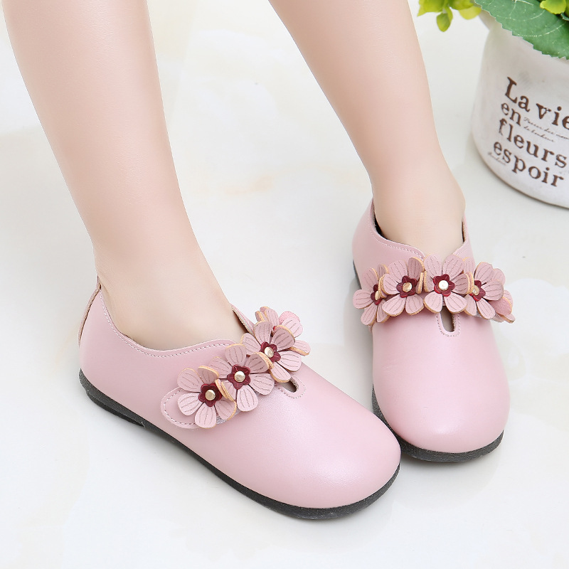 JGSHOWKITO Princess Fashion Brand Kids Shoes For Girls Children Leather Flats With Cute Flowers Kawaii Sweet Quality SneakersJGSHOWKITO Princess Fashion Brand Kids Shoes For Girls Children Leather Flats With Cute Flowers Kawaii Sweet Quality Sneakers