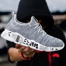 Mens Sneakers Spring Shoes Men 2018 Warm Light Casual Jogging Shoe Fashion Chaussure Homme Large Size