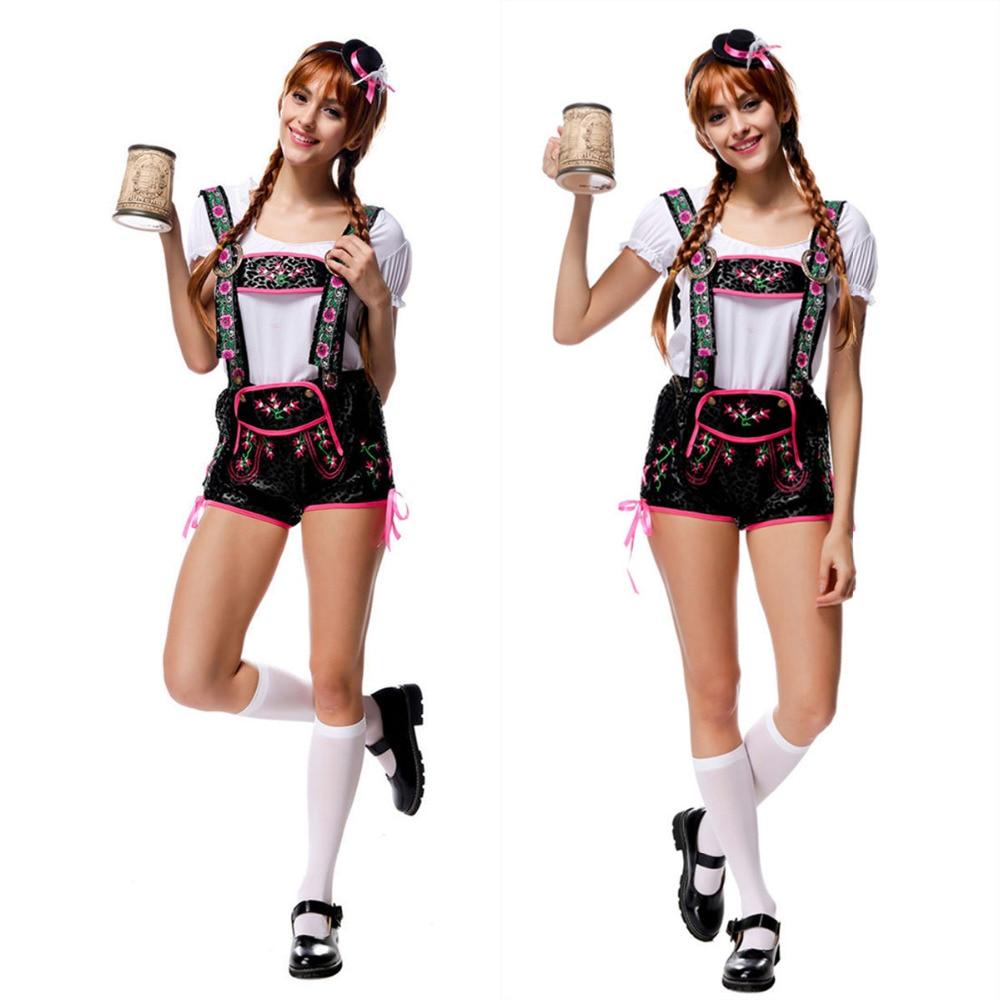 Vocole Womens German Dirndl Oktoberfest Costume Bavarian Party Fancy Dress Halloween Beer Girl Maid Shirt Lederhosen Set Clothes-in Sexy Costumes from ...  sc 1 st  AliExpress.com & Vocole Womens German Dirndl Oktoberfest Costume Bavarian Party Fancy ...