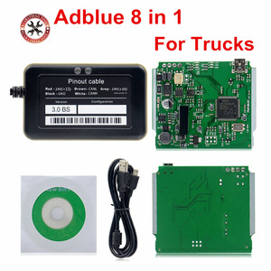 Image 1 - 2018 A++Quality Support euro 6 Professional Adblue 8in1 8 in 1 AdBlue Emulator V3.0 with NOx sensor Free Shipping