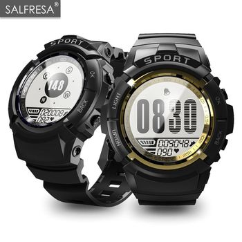 9cfef1ea2975 Deporte al aire libre impermeable IP68 reloj inteligente profesional  SALFRESA S816 corazón Monitor de natación deportes