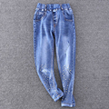 new fashion girls jeans children pants jeans Free shipping new arrival high quality children's girl's trousers kids pants