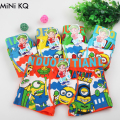 5pcs/Lot Children Boys Minions Panties Kids Fashion Character Modal Cotton Boxer Brief Infant Teen Boy Short Underwear