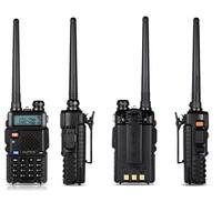 "5r bf BF-UV-5R Baofeng מכשיר קשר שני דרך Cb הרדיו ידני אפנון תדר של Talkie Walkie 10 ק""מ נטענים Hf מקמ""ש (4)"