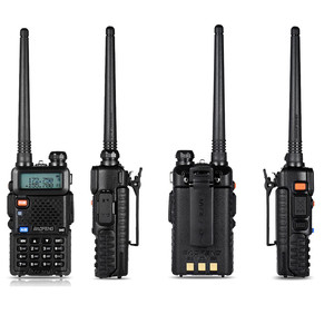 Image 4 - BF UV 5R Baofeng Walkie Talkie Two Way Cb Radios Manual Frequency Modulation of Walkie Talkie 10 Km Rechargeable Hf Transceiver