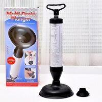 Plunger Pump Toilet Plunger Toilet Auger Dredge Toilet Plastic Bathroom Accessories High Pressure Pump Cleaner Sink Plunger