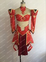 Anime Kader Grand Sipariş FGO Mordred Saber Üniforma Cosplay Kostüm