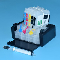HP88 CISS SYSTEM for hp 88 continuous ink supply system with cartridge for hp ciss with arc chips use for K5400 K550 K8600 chip