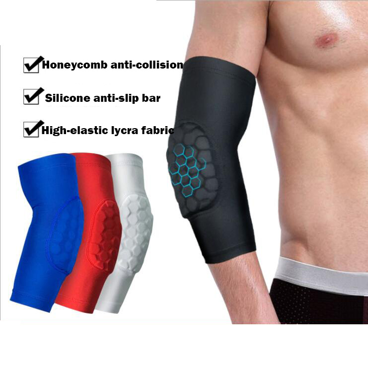 1pc Sports Arm protect honeycomb elbow support elbow pad basketball badminton riding arm protector guard