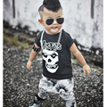 Baby Boy Clothing Sets Fashion 2016 Summer Baby Boy Clothes Cotton Short Sleeve Star Wars T-Shirt+Pants Newborn Infant 2pcs Suit