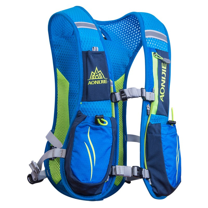 купить Outdoor Unisex Lightweight Running Backpack Sports Trail Racing Marathon Hiking Fitness Bag Hydration Vest Pack недорого