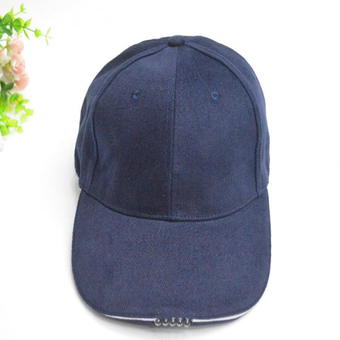 Men's Baseball Caps Apparel Accessories Luminous Cap Led Glowing Baseball Cap Fiber Optic Visor Fashion Cool Casual Mens And Womens Universal Baseball Cap
