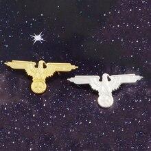 Badge militaire allemand croix d'aigle, broche de collier de chemise en Denim, broches de revers, cadeaux pour amis, WW2