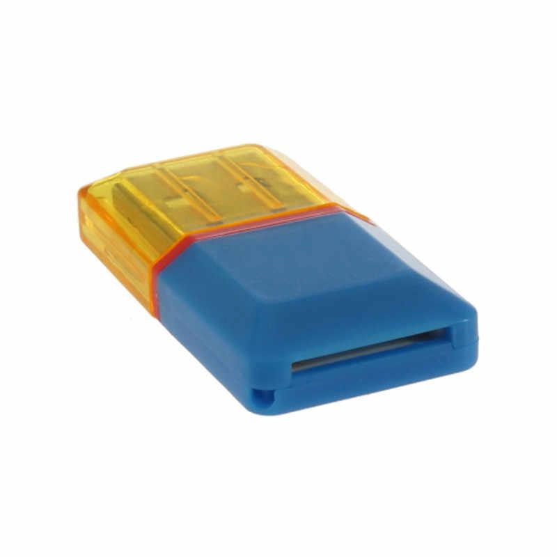 1 قطعة الماس جديد USB 2.0 مرحبا السرعة مايكرو SD SDHC TF قارئ بطاقات متجر بالجملة