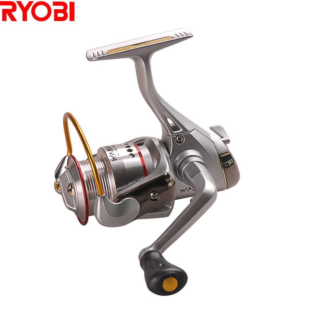 RYOBI Originais Japão Guerreiro (ECUSIMA) Spinning Reel Fishing 6 + 1BB/5.0: 1 Moulinet pesca Molinete Para Pesca Carpa Carretel Carretel De Pesca