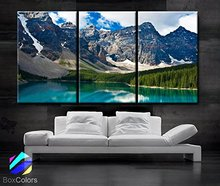 Canvas Blue Sky White Cloud Landscape 3 Modern Style Picture Decorative Wall Painting Art Decoration Print Framed