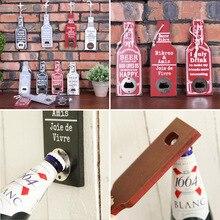 Retro Wood Wall Hanging Beer Bottle Opener