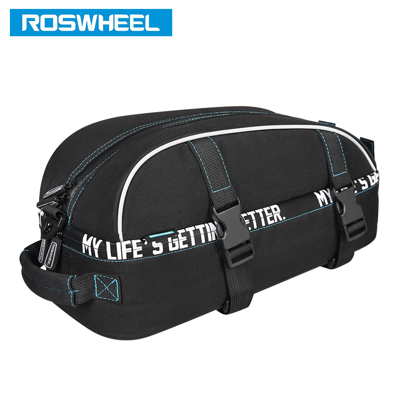 New Fashion Roswheel 141415 6l Bicycle Bags Bike Rear Rack Trunk Bag Cycling Pannier Handbag Pannier Attractive Fashion Sports & Entertainment Bicycle Bags & Panniers