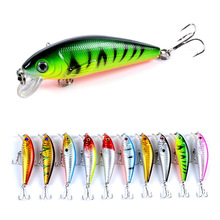 Outdoor Sports Floating Minnow Fishing Bait 7.2cm/8.7g Artificial Sinking Lure Tackle Flies